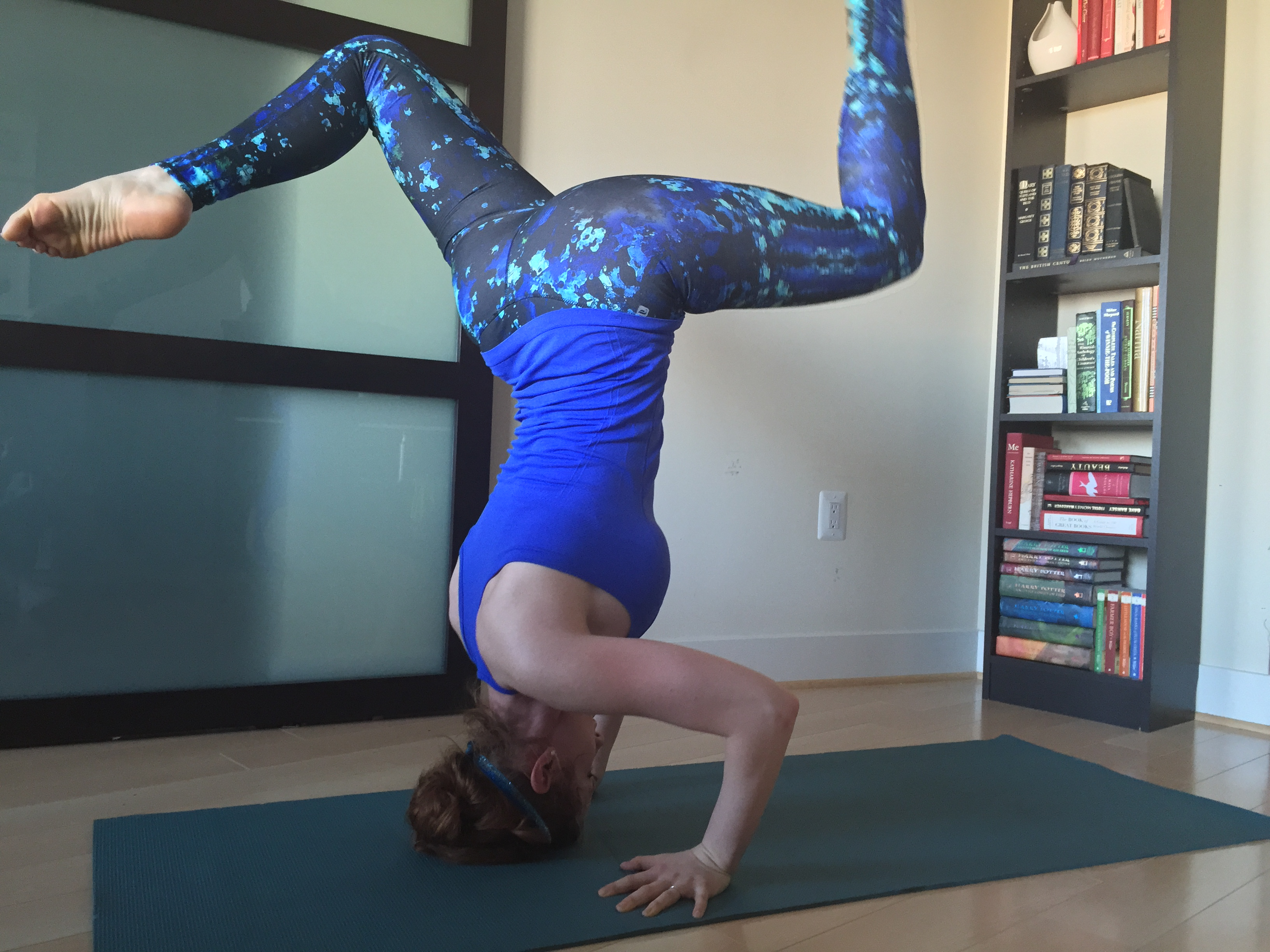 Learn Crow to Headstand and back again   Naturally Fit Living