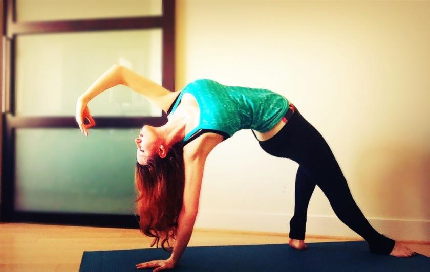 Ashtanga Yoga: Wild Thing Pose