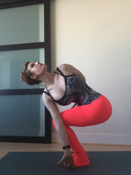 Revolved Chair Pose