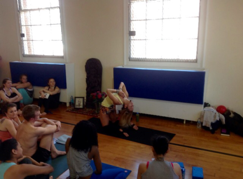 kino macgregor teaching backbends