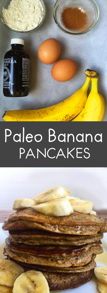 #paleo #paleopancakes #glutenfreerecipes #sugarfree #vegan #vegetarian #glutenfree #bananapancakes #paleobananapancakes