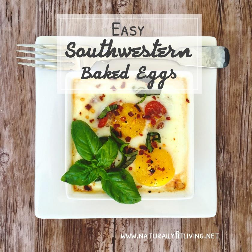 Easy Southwestern Baked Eggs