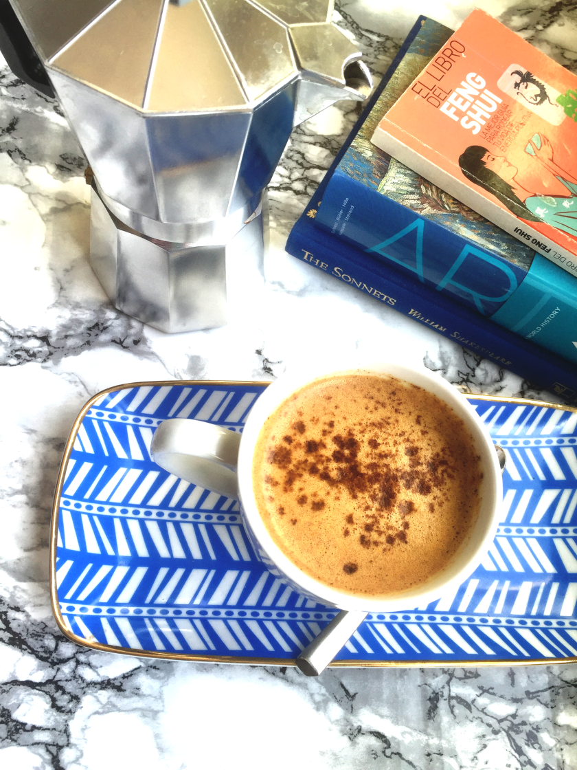 vegan pumpkin spice latte on Naturally Fit Living