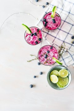 Recipes blueberrie smoothie